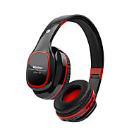 Bt-kdk56 universal over øret headset trådløs bluetooth 4.1 stereo høretelefoner tf kort mp3-afspiller aux indgang