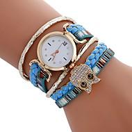 Damskie DZIECIĘCE Sportowy Modny Zegarek na nadgarstek Zegarek na bransoletce Unikalne Kreatywne Watch Na codzień Chiński KwarcowySowa