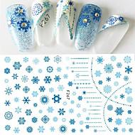 1 아트 스티커 네일 패턴 여아 & 여성 3-D DIY 용품 메이크업 화장품 아트 디자인 네일