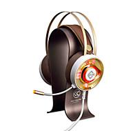 AJAZZ AX360Gold Traka za kosu Žičano Slušalice Dinamičan Tikovina Igranje Slušalica Dvostruki upravljački programi Buke izolaciju S
