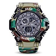 Heren Dames Sporthorloge Militair horloge Digitaal horloge Japans Kwarts LED Kalender Chronograaf Waterbestendig Snelheidsmeter Stopwatch
