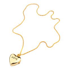 Damskie Modny Kwarcowy Pasmo Heart Shape Złoty