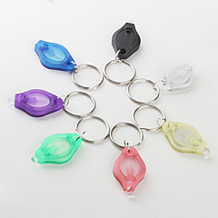 Kulcstartó elemlámpák Szuper könnyű Kompakt méret Kis méret Műanyag mert CR2016 2 * CR2016