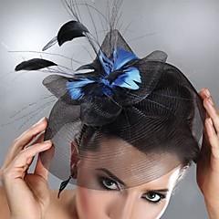 Γυναικείο Φτερό Τούλι Headpiece-Γάμος Ειδική Περίσταση Διακοσμητικά Κεφαλής
