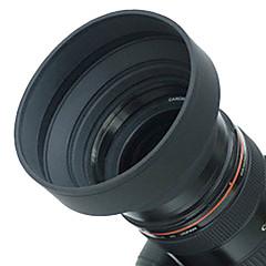 Geniş açı için 67mm kauçuk lens kapağı, standart, telefoto lens