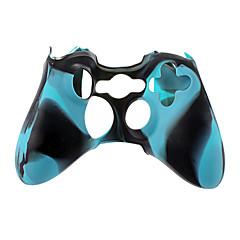 Langaton ohjain Silikonikotelo Xbox360 (Sininen)