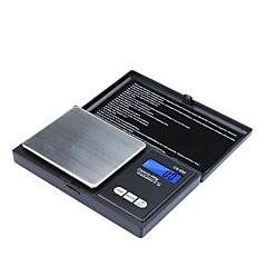 Nagy pontosságú Mini Elektronikus Digital Pocket Scale Ékszer tömegű Balance Portable 650g/0.1g