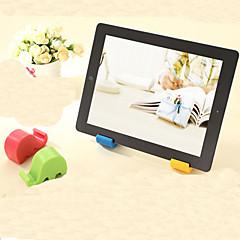 단색 코끼리 디자인 휴대 전화 홀드 (색상 랜덤)