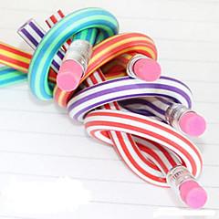 Ceruza Toll Ceruzák Toll,GUMI Hordó Fekete Ink Colors For Iskolai felszerelés Irodaszerek Csomag 1