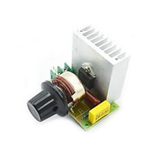 3800W SCR Ηλεκτρονικός θερμοστάτης ελέγχου ταχύτητας ροοστάτες ρυθμιστή φωτεινότητας