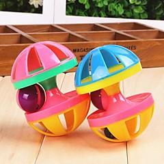 Zabawka dla kota Zabawka dla psa Zabawki dla zwierząt Interaktywne Zabawki piszczące Dzwonkowy Ciężarek Plastik
