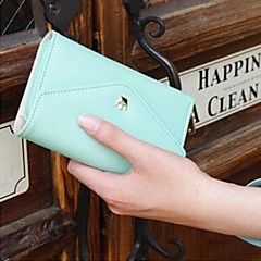 hoge kwaliteit portemonnee portemonnee voor iPhone en Samsung (assorti kleur)