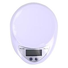 megoodo digitális konyhai mérleg (5kg max / 1g felbontás)