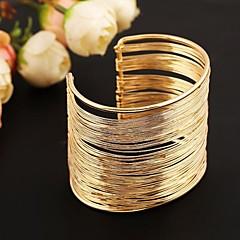 divat fém mandzsetta karkötő (arany&ezüst)