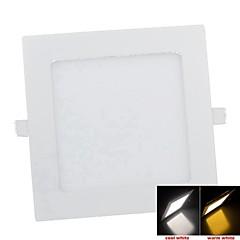 9W 45x2835smd 650lm 3000K meleg whitee fény LED panel fény (ac 85-265v)