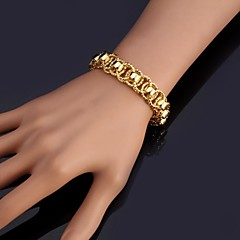 Damen Ketten- & Glieder-Armbänder Armreife Armband Modisch Modeschmuck Platiert vergoldet Schmuck Für Hochzeit Party Besondere Anlässe