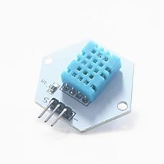 arduino için dijital sıcaklık / nem ölçüm test modülü - mavi + beyaz