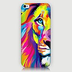iphone 7 plus kleurrijk leeuw patroon achterkant van de behuizing voor iphone5 / 5s