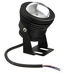 fekete vízálló 10W 900lm 2700-6300k meleg / hideg fehér fény (DC12V)
