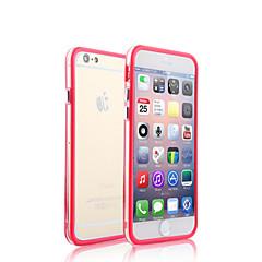 Käyttötarkoitus iPhone X iPhone 8 iPhone 8 Plus iPhone 5 kotelo kotelot kuoret Läpinäkyvä Bumper Etui Yhtenäinen väri Kova PC varten