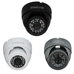 hosafe ™ 960p 1,3 megapixeles biztonság vízálló fém dóm IP kamera 24 IR LED