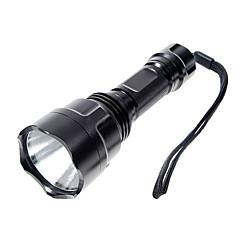 LED-Zaklampen Handzaklampen LED 1000 Lumens 5 Modus Cree XP-E R2 18650 Kamperen/wandelen/grotten verkennen