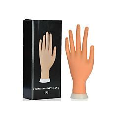 nail art principal ferramenta modelo mão macia