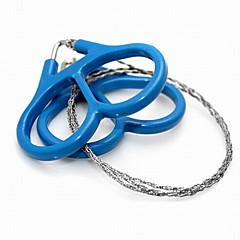 Fűrészek Steel Wire Saw Kemping Utazás Szabadtéri Multi Function Kényelmes Műanyag Stainless Steel Others