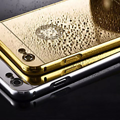 poszycia lustro z powrotem przypadku metalowa rama telefonu dla iPhone 5 / 5s (różne kolory)