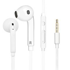100% oryginalny HIFI w ucho hałasu słuchawki stereofoniczne słuchawki bas izolacji Moda sportowa dla mikrofonu zdalnego słuchawka samsung