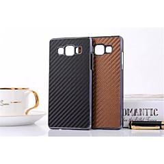 Mert Samsung Galaxy tok Minta Case Hátlap Case Csempe Műbőr Samsung A7 / A5 / A3