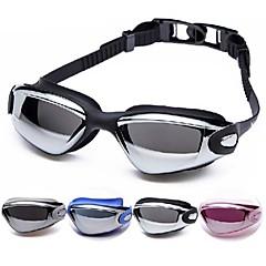 Made In China Úszás Goggles Női / Men's / Gyermek / Uniszex Páramentesítő / Vízálló / Állítható méret Acetát Akril Fekete / Ezüst Ezüst