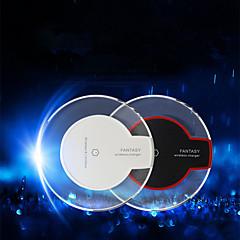 uusi läpinäkyvä qi langaton laturi latauksen lähettimen latauksen iPhone i6 / i6plus / i5s samsung S6 / S6 reuna / htc