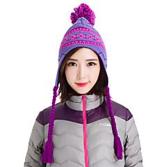 마키노 여성의 니트 모자 따뜻한 비니 스노우 보드 겨울 눈 모자 0113