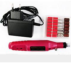 1pcs manicure máquina de moer elétrico / mini-tipo caneta ternos da máquina de moagem elétrica para manicure