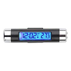 ζεστό LCD οπίσθιου φωτισμού αυτοκινήτων ψηφιακό θερμόμετρο αυτοκινήτου ρολόι ημερολόγιο