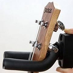 kerek tányér fali kampó erős fogas a gitár fekete