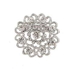 srebrzenie / Rhinestone broszka broszka kobiety pusta miłość ślub / strona 1pc