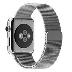 Loop milanês para relógio de maçã pulseira de pulseira de relógio de substituição de aço inoxidável