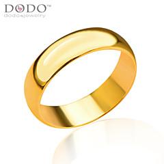 Férfi Női Páros Karikagyűrűk jelmez ékszerek Arannyal bevont Ékszerek Kompatibilitás Esküvő Parti Napi Hétköznapi Sport