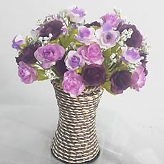 Μετάξι / Πλαστικό Τριαντάφυλλα Ψεύτικα λουλούδια