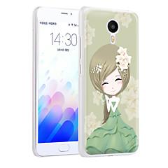 ximalong tuore tyttö puhelimen kuori maalattu helpotuksia hakea mei zu m3 huomautus