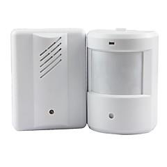 ușă clopot de alarmă senzor de monitor dăngăni usa cu infraroșu fără fir detector sensibil de intrare de bun venit clopot muzică