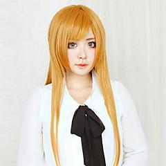 Περούκες για Στολές Ηρώων Sword Art Online Asuna Yuuki Πορτοκαλί Μακρύ Ίσια Anime Περούκες για Στολές Ηρώων 80 CM Ίνα Ανθεκτική στη Ζέστη