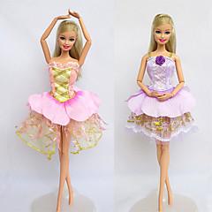 kostuums Voor Barbiepop Jurken Voor voor meisjes Speelgoedpop
