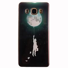 Mert Samsung Galaxy tok IMD Case Hátlap Case Rajzfilmfigura Puha TPU SamsungJ7 (2016) / J5 (2016) / J5 / J1 (2016) / J1 Ace / J1 / Grand