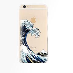 Για iPhone X iPhone 8 iPhone 8 Plus iPhone 6 iPhone 6 Plus Θήκες Καλύμματα Διαφανής Πίσω Κάλυμμα tok Τοπίο Μαλακή TPU για iPhone X iPhone
