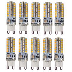 4W G9 LED-lamper med G-sokkel T 48 SMD 2835 300-350 lm Varm hvid Kold hvid Naturlig hvid Dekorativ VandtætVekselstrøm 220-240 Vekselstrøm