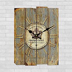 현대/현대 기타 벽 시계,광장 우드 30*30cm*3cm 실내 시계
