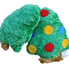 Zabawka dla kota Zabawka dla psa Zabawki dla zwierząt Zabawki piszczące Zabawka do czyszczenia zębów Pisk Plusz Green